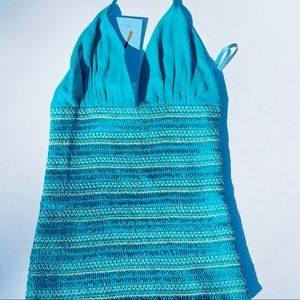 Marciano Teal XS/TP 100% Silk